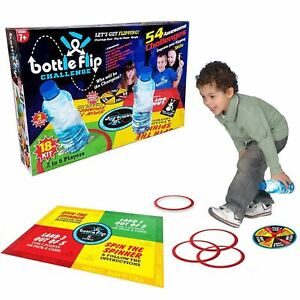 54-Bottle-Flip-Board-Game-18pc-Piece-Kids-Family-Xmas-Gift-Present-2-6-Players