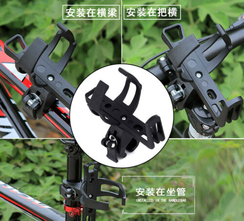 Water Bottle Cage Mount Drink Bicycle Handlebar Bike Cup Holder Cycling-Beverage