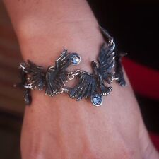 GENUINE Alchemy Gothic Bracelet - Flocking Ravens | Ladies Fashion Jewellery