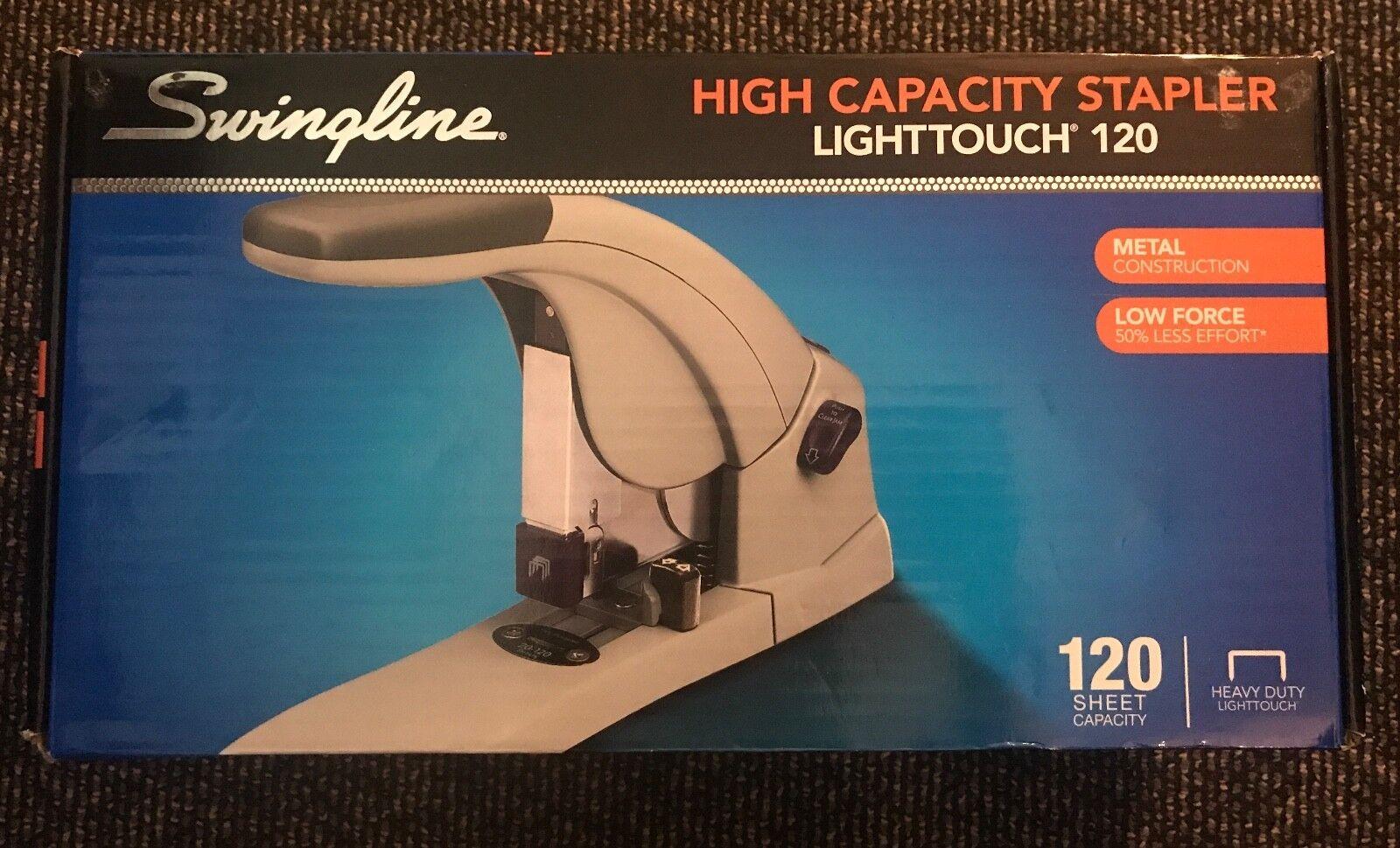 SWINGLINE LIGHTTOUCH HEAVY-DUTY STAPLER 120-SHEET w  5000 Staples NIB