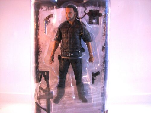 Rick Grimes Woodbury Assault The Walking Dead McFarlane Series 7.5