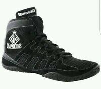 Grapple Kings Mens Wrestling Shoes Trainers Boots With Straps And Laces Size 9