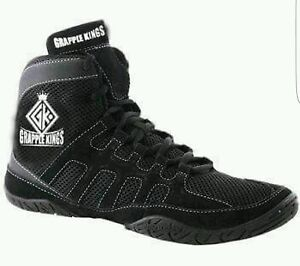 Wrestling An Strap Shoes Mma With Boots Trainers Kings Grapple Laces qw1En