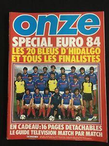 MAGAZINE-ONZE-N-102-SPECIAL-EUROCOPA-84-FRANCE-ET-TOUS-LES-FINALISTES-EURO-1984