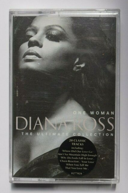 DIANA ROSS - ONE WOMAN THE ULTIMATE COLLECTION - CASSETTE TAPE