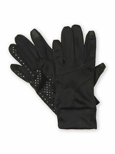 NordicTrack-Womens-Soft-Shell-Touchscreen-Texting-Fleece-Lined-Gloves-Black-XL