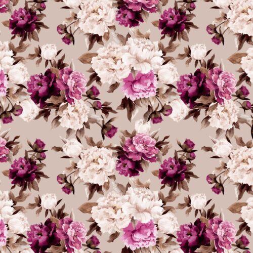 FS425 Marigold Fleur Impression De Haute Qualité Jersey Extensible Scuba Tissu