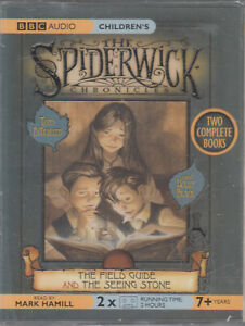 Spiderwick-Chronicles-Field-Guide-Seeing-Stone-2-Cassette-Audio-Book-NEW