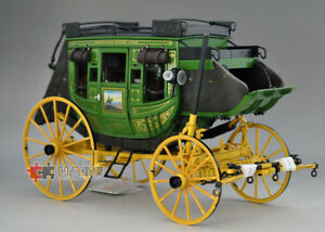 1/16 Franklin Mint 1886 Wells Fargo Overland Stagecoach