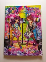 Lisa Frank Rainbow Rockers Giant Coloring And Activity Book Gift