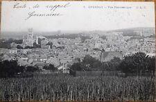 Epernay, Grand Est, Marne, France 1904 Postcard: Vue Panoramique