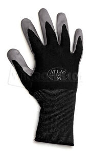 Image Is Loading 12 Pairs Black Atlas Showa 370 Nitrile Gloves