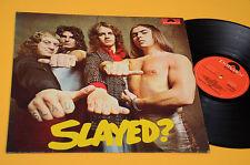 SLADE LP SLAYED 1°ST ORIG GERMANY 1972 EX LAMINATED COVER