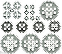 Lego Gears X20 (technic,nxt,ev3,mindstorms,robot,motor,spur,cogwheel,piñon,car)