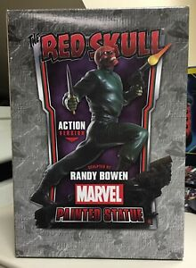 Bowen-Designs-THE-RED-SKULL-Action-Ver-limited-ed-painted-statue-MARVEL