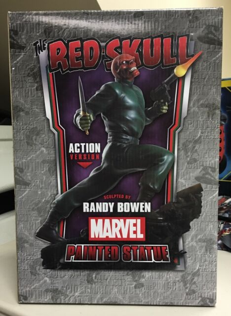Bowen Designs THE RED SKULL Action Ver. limited ed painted statue - MARVEL