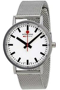 Mondaine Men's A660.30314.11SBMS SBB 36mm Stainless Steel Casual Watch