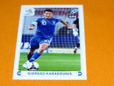 105 KARAGOUNIS HELLAS GRECE FOOTBALL PANINI UEFA EURO 2012