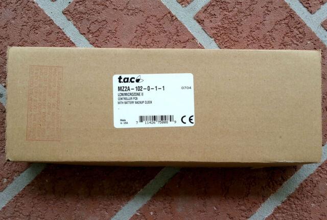 Tac Schneider Microzone 2 II Barber Colman Invensys Network 8000 Mz2a 102 0 1 1