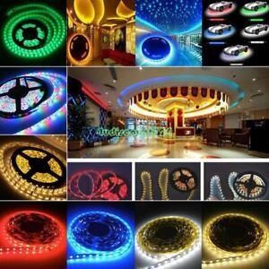 A-todo-color-RGB-5m-300LEDs-3528-SMD-Flexible-LED-Strip-Tiras-de-luces-Lampara