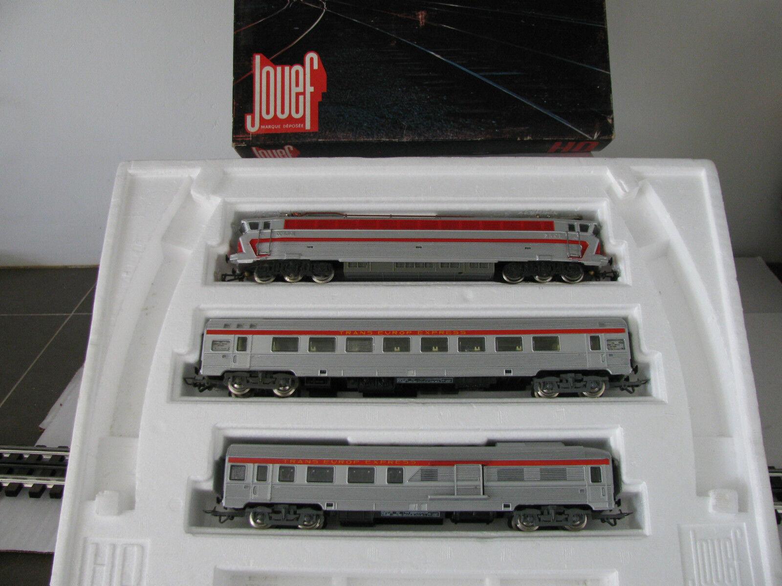 Jouef  7606E - Trans Europa Express Set Tee