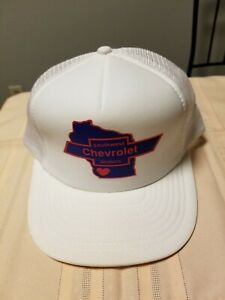 vintage southwest chevrolet dealer snapback mesh trucker hat car collectible ebay ebay