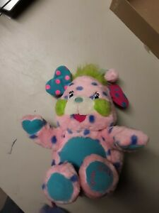 Popples-POLKA-DOTTIE-Plush-Stuffed-Animal-Fold-Up-Toy-2001