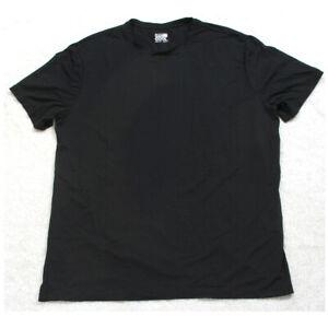 32 Degrees Cool Black Tee T-Shirt Top XL X-Large Short Sleeve Crewneck Men's Man