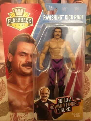 WWE Flashback Series JJ Dillon Howard Finkel Build A Figure Flair Lex Luger Etc