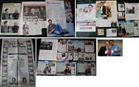 OLIVER MOMMSEN (TATORT) deutsche Artikelsammlung + 1 Foto 15x10 cm