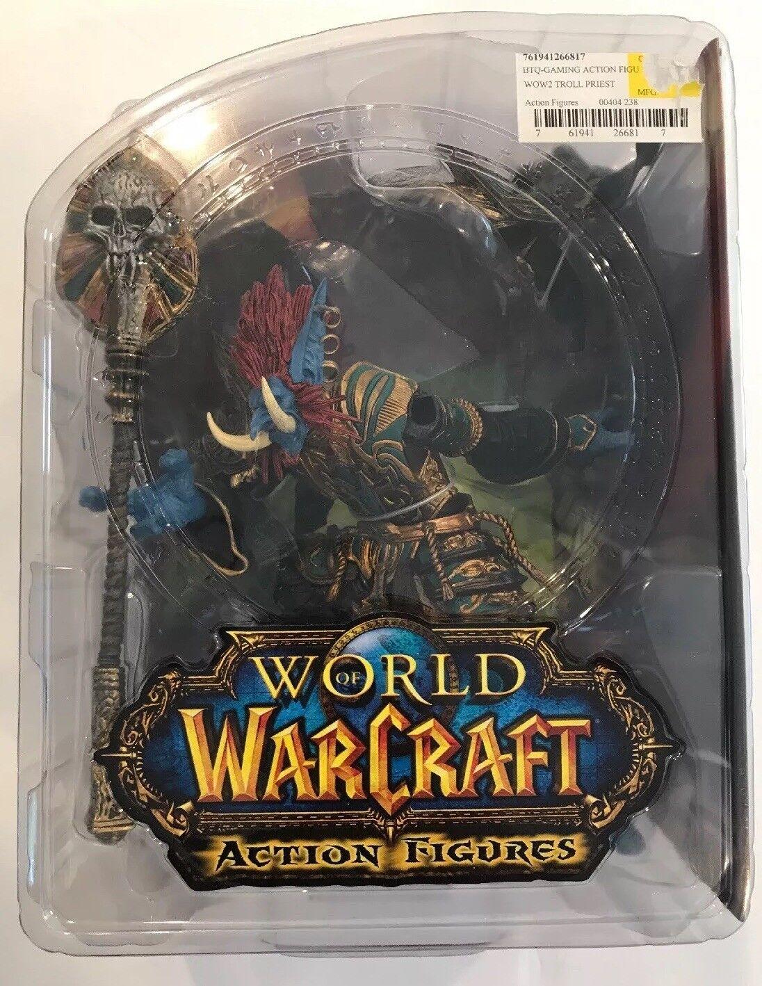 NEW Welt of Warcraft WOW serie 2 Zabra Hexx Troll Priest Wirkung Figure (2008)