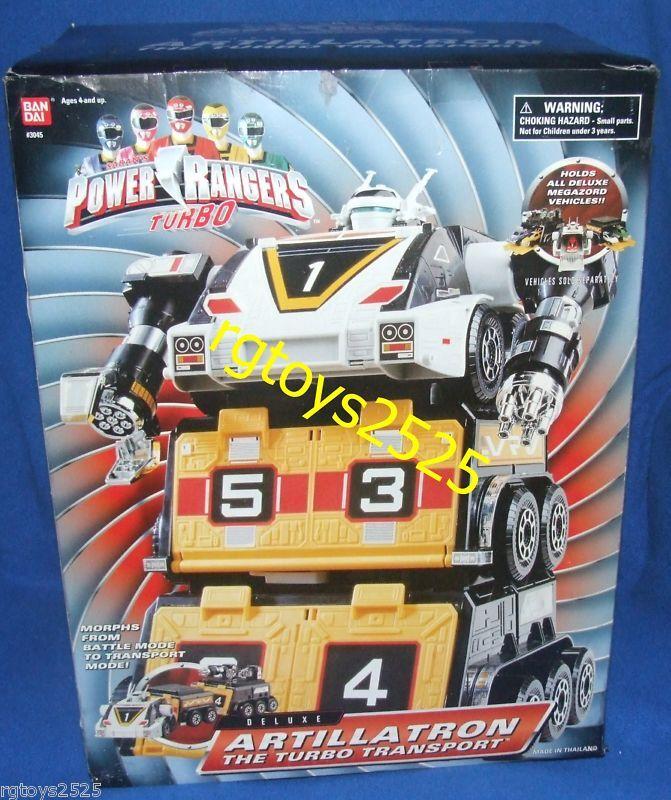 Energia Rangers Turbo Deluxe Artillatron nuovo Megazord Factory Sealed  1996  n ° 1 online
