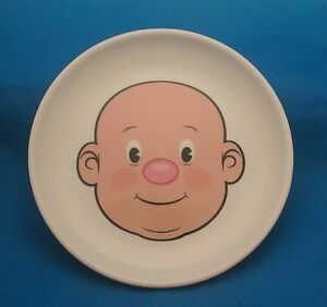Image is loading FRED-Plays-With-His-Food-Plate-FOOD-FACE- & FRED Plays With His Food Plate FOOD FACE Dinner Plate | eBay