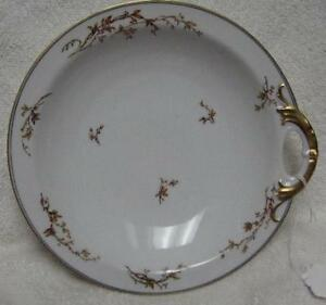 HAVILAND china H327 pattern OPEN HANDLED Bowl