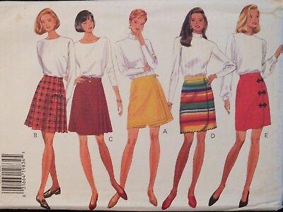 OOP BUTTERICK 4130 MS Blouse /& Gored Skirt PATTERN 6-8-10//12-14-16//18-20-22 UC