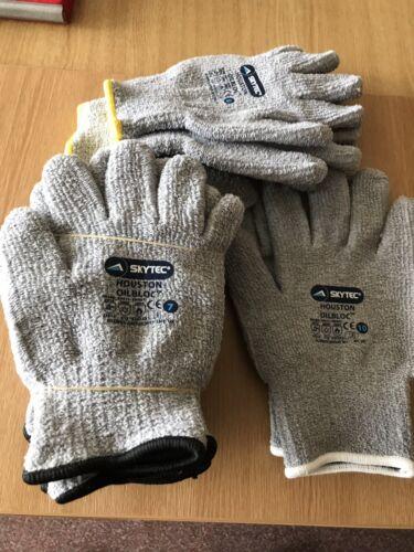 Skytec Houston Oil bloc Oil Resistant Gloves Size 7 Small
