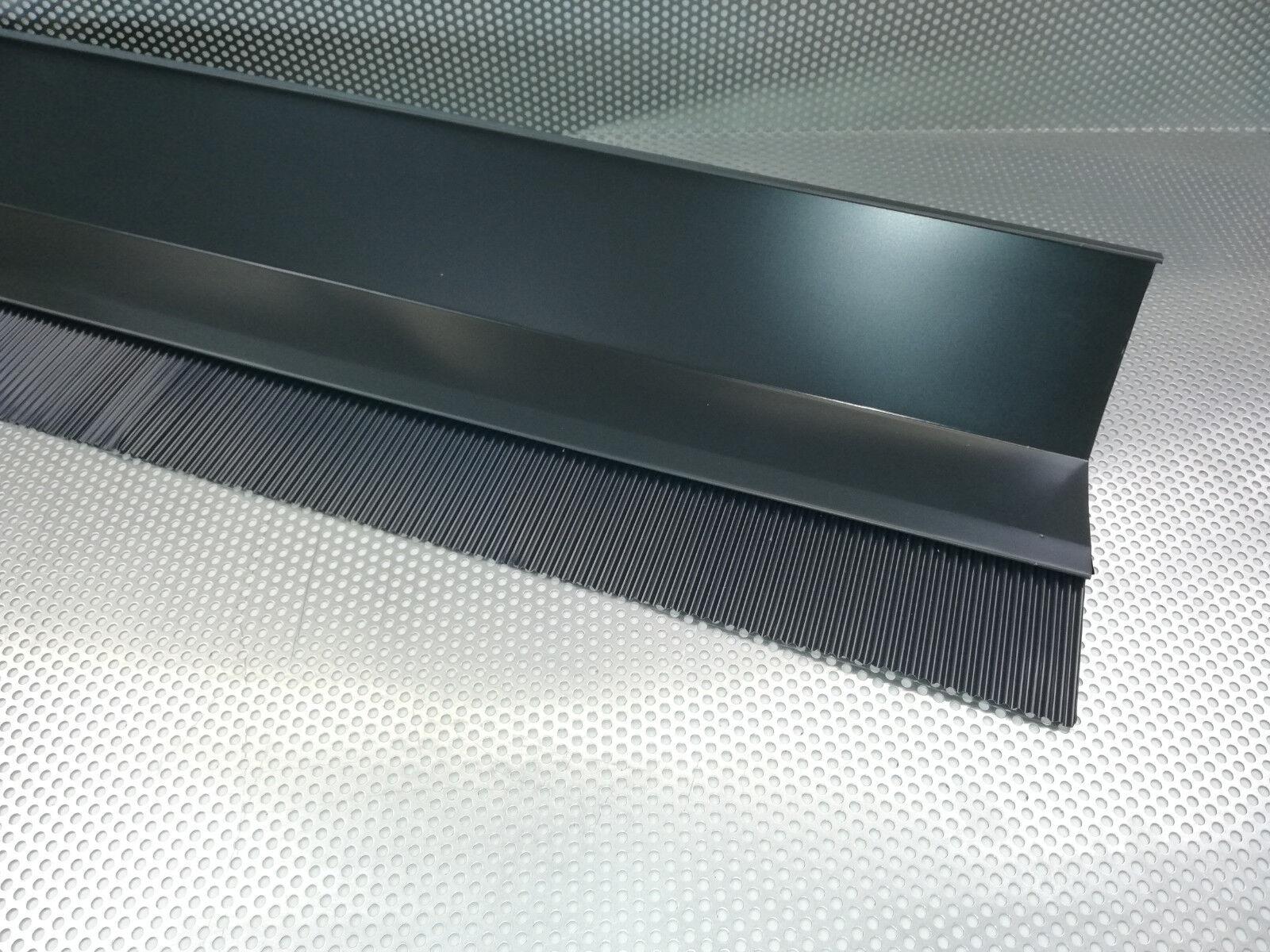 2,00 m Wandanschluss Brustblech aus. Aluminium, in Farbe Anthrazit