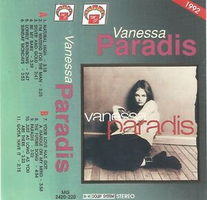 Vanessa Paradis – Vanessa Paradis (1992) RARE POLISH TAPE BO - Chorzów, Polska - Zwroty są przyjmowane - Chorzów, Polska