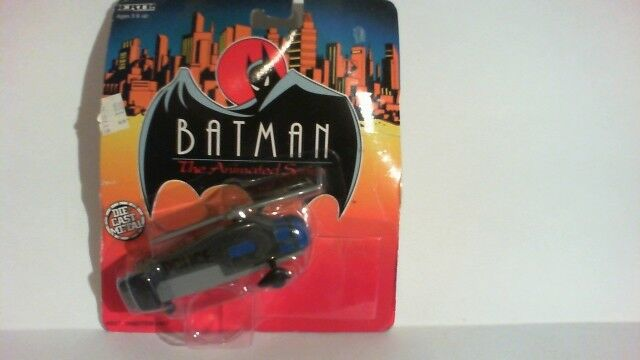 RARE DC Batman The Animated Series ( 1993 Ertl ) Gotham City Police Helicopter