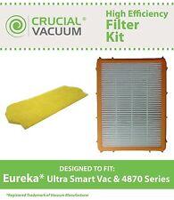 Eureka Smart Vacuum Filter & HF2 Filter, Part # 61111B & 70082