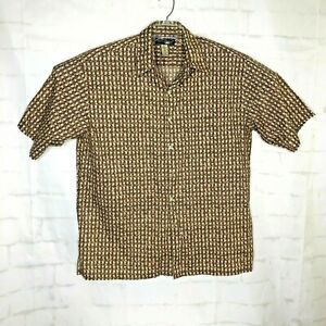 Tori-Richard-Hawaiian-Retro-Men-Short-Sleeve-Shirt-Cotton-Lawn-Sz-XL