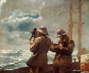 Eight-Bells-by-Winslow-Homer-75cm-x-62cm-Canvas-Art-Print-Wall-Art