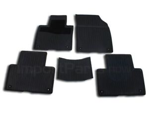 Genuine Rubber All Weather Mat Set Charcoal 32204609 Ebay