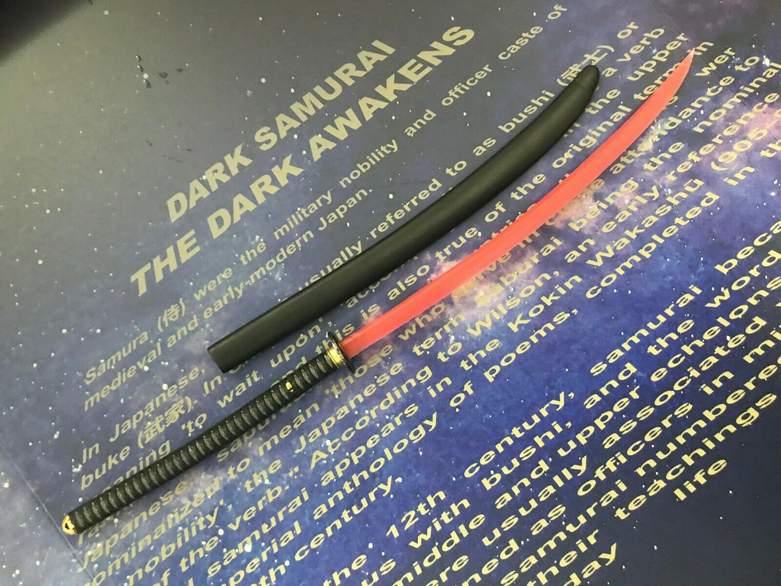 Toysdao TW004 Dark Samurai - 1 6th Scale Sword