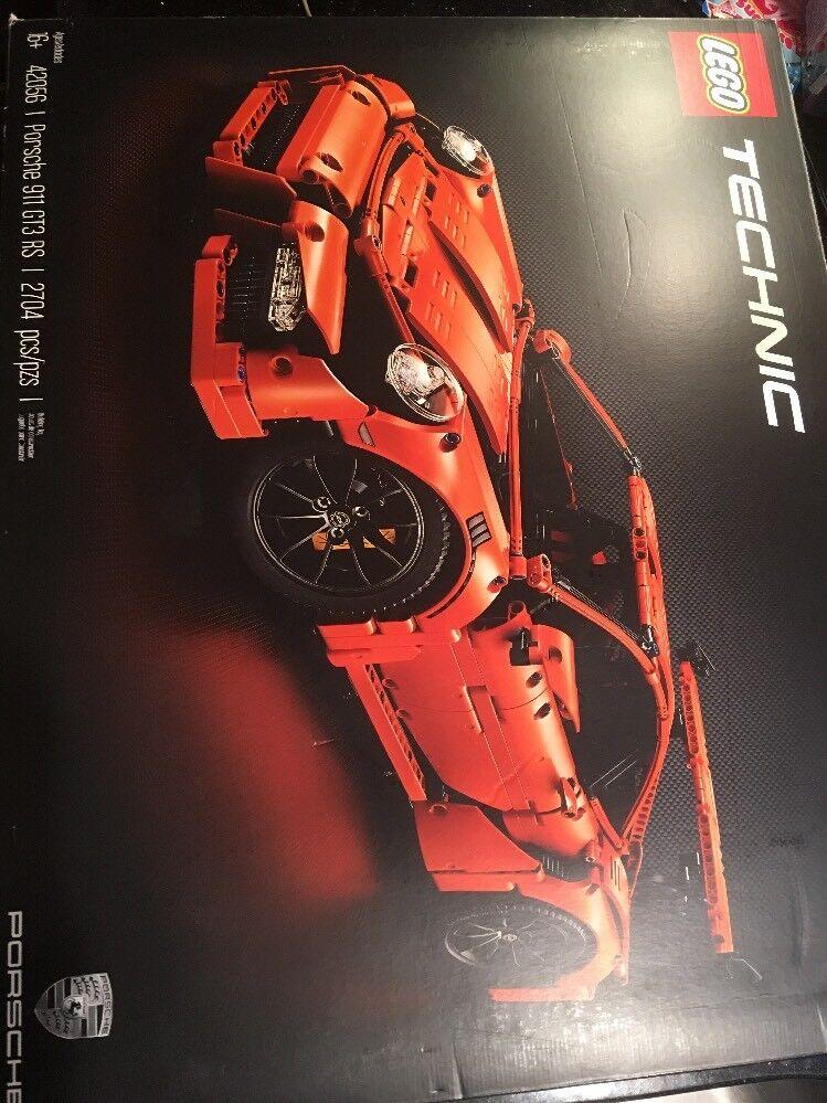 LEGO Technic Porsche 911 GT3 RS 42056 Splitterny fabriksfabrik förseglad