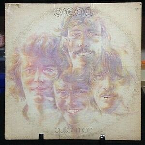BREAD Guitar Man Album Released 1972 Record/Vinyl Collection USA