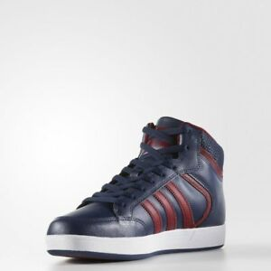 Varial Originals Mid Adidas Shoes Men's Navyburgundywhite Leather A5j4LR