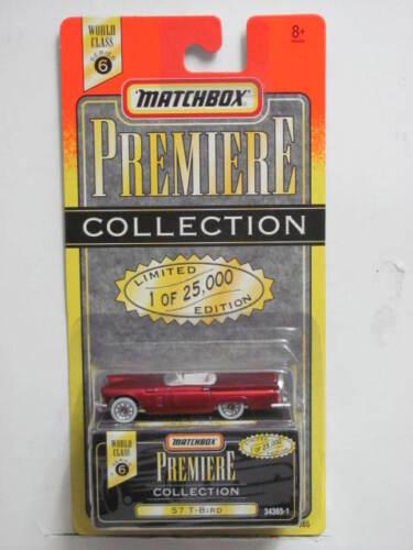 MATCHBOX PREMIERE COLLECTION SERIES 6  /'57 T-BIRD