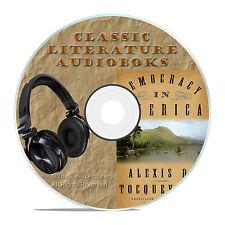 DEMOCRACY IN AMERICA, VOL 1, TOCQUEVILLE, CLASSIC AUDIOBOOK LITERATURE MP3-A77