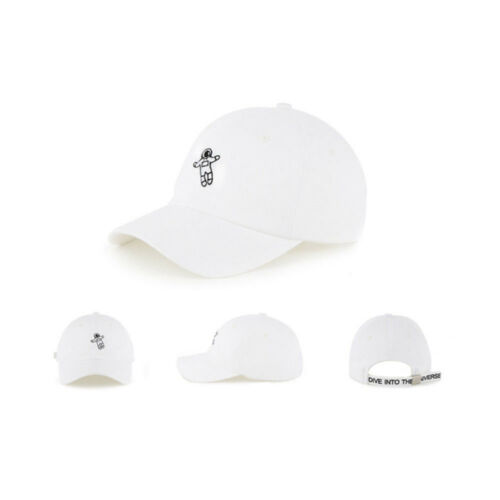 Unisex Mens Dive Into The Universe Spaceman Baseball Cap Trucker Hats White